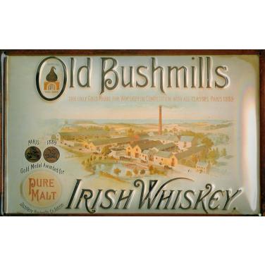 Old Bushmills Fabrik-(20x30cm)