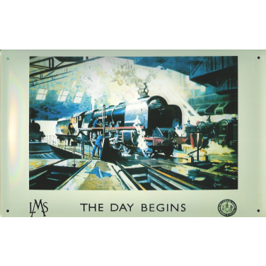 The Day Begins-(30 x 20cm)