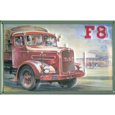 MAN Diesel F8 -(30 x 20cm)