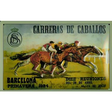 Carreras De Caballoes  -(20 x 30cm)