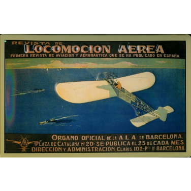 Locomotion Aerea -(30 x 20cm)
