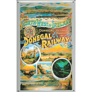 Donegal Railway  -(20 x 30cm)