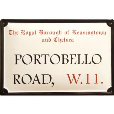 Portobello Road W.11-(20 x 30cm)