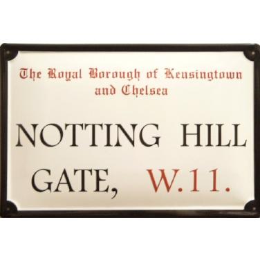 Notting Hill Gate W.11 -(20 x 30cm)