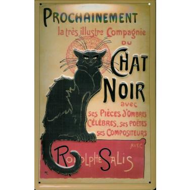 Chat Noir-(20 x 30cm)