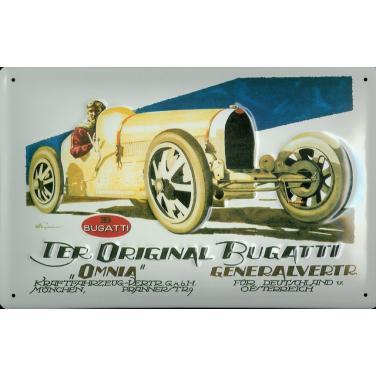 Der Original Bugatti-(30 x20cm)