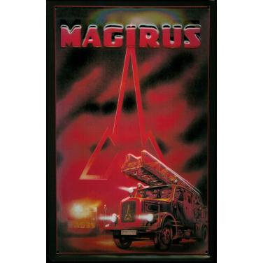 Magirus Feuerwehr -(20 x 30cm)