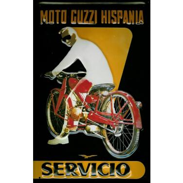 Moto Guzzi Hispania-(20 x30cm)