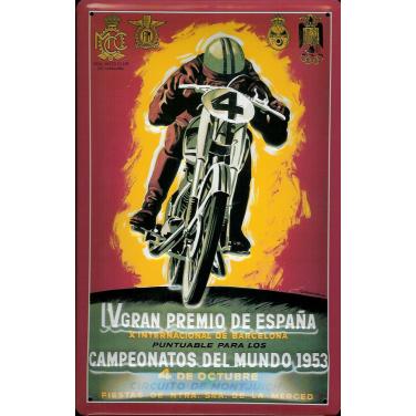 Real Moto Club-(20x 30cm)
