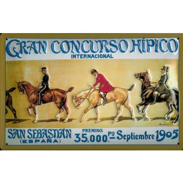 Gran Concurso Hipico -(20 x 30cm)