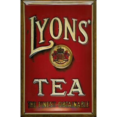 Lyons' Tea -Lions-(20x30cm)