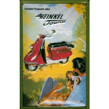 Heinkel Tourist-(20x30cm)