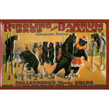 Ringling Bros-Bears -(20 x 30cm)
