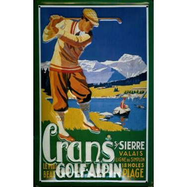 Cran's Golf Alpin  -(20 x 30cm)