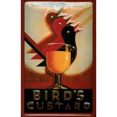 Bird's Custard-(20 x 30cm)