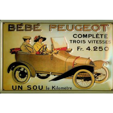 BEBE Peugeot -(30 x 20cm)