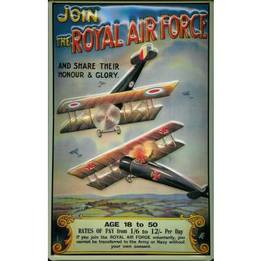 Royal Air Force -(20x 30cm)