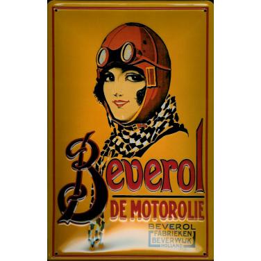 Beverol  Motorolie Holland-(20 x 30cm)