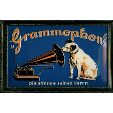 Grammophon Die Stimme-(30 x 20cm)