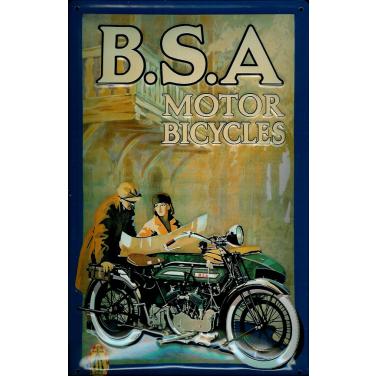 B.S.A Motor Bicycles -(30 x 20cm)
