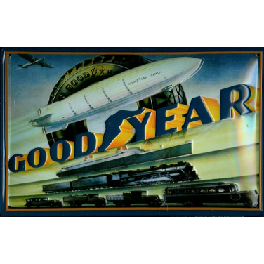 Goodyear -(30 x 20cm)