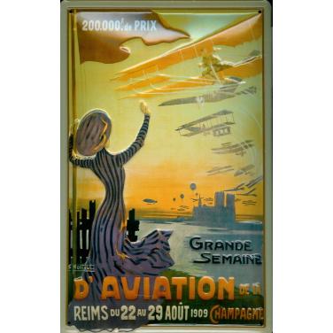 Grande Semaine D'Aviation -(20 x 30cm)