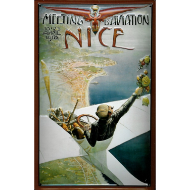 NICE Avril 1910 -(20 x 30cm)