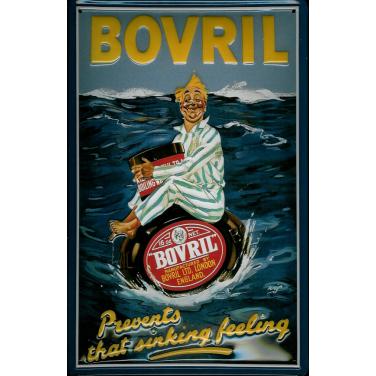 Bovril-sinking feeling -(20 x 30cm)