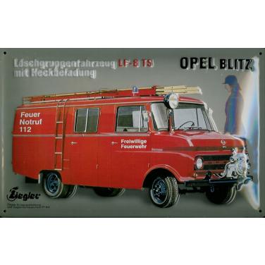 Opel Blitz LF-8 TS-(30x 20cm)