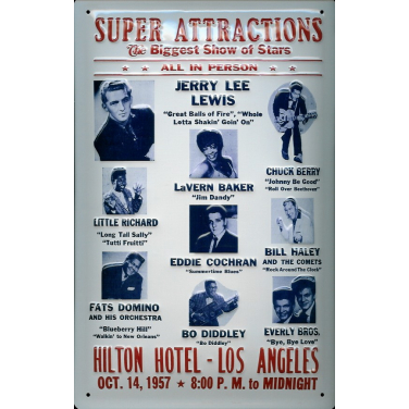 Super Attractions -(20 x 30cm)