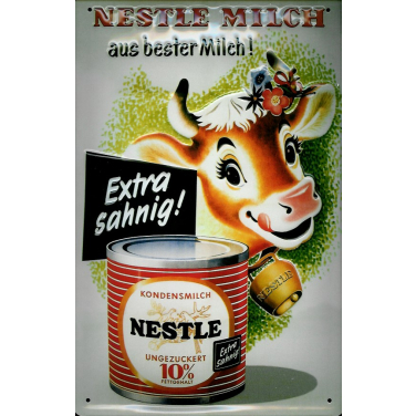 Nestle Milch extra sahnig-(20x30cm)