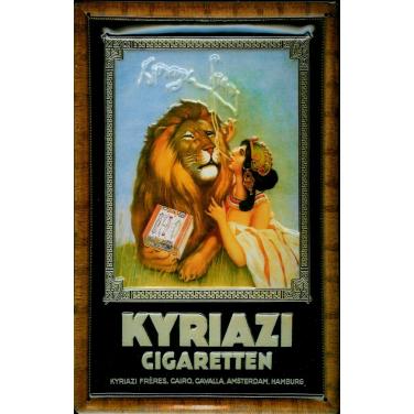 Kyriazi Cigaretten-(20 x 30cm)