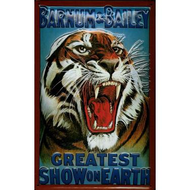 Barnum & Bailey Tiger-(20 x 30cm)
