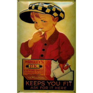 Wrigley's Keeps you fit -(20 x 30cm)