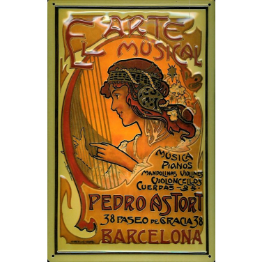 El Arte Musical Barcelona -(20 x 30cm)