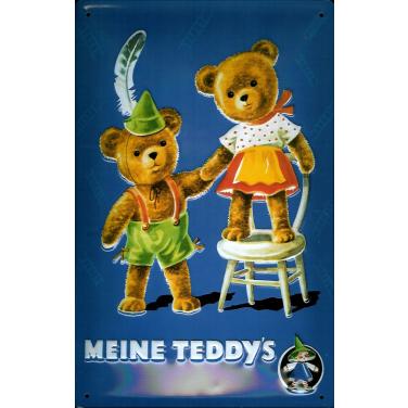 Meine Teddy's-(20 x 30cm)