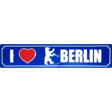 I love Berlin-(10 x 44cm)
