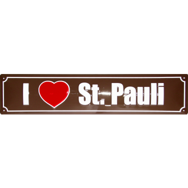 I love St.Pauli-(10 x 44)