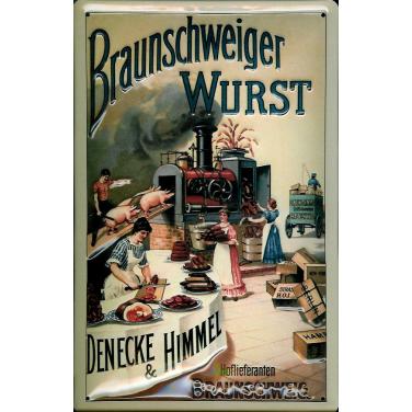 Braunschweiger Wurst -(20 x 30cm)