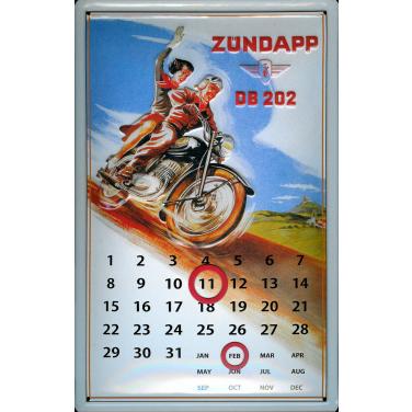 Zündapp DB 202 Calendar-(20 x 30cm)