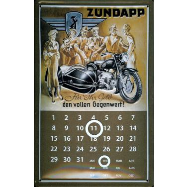 Zündapp Für ihr Geld -Kalender-(20 x 30cm)