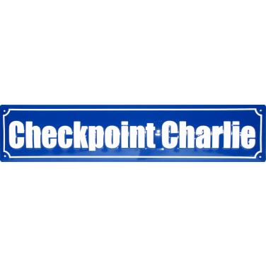 Checkpoint Charlie-(10 x 44cm)