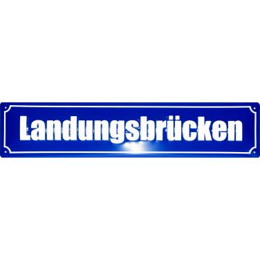Landungsbrücken -(10 x 44cm)