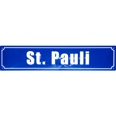St. Pauli-(10 x 44cm)