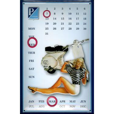 Piaggio Kalender-(20x 30cm)
