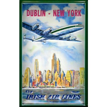 Dublin - New York -(20 x 30cm)