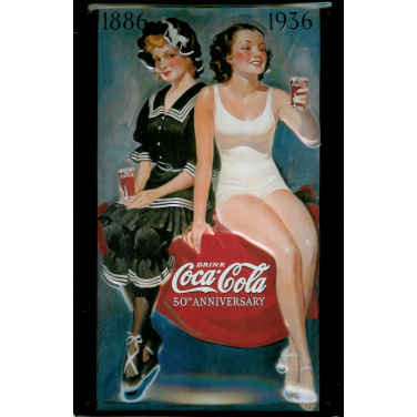 "Coca-Cola Bathing Beauty ""Drink Coca-Cola 50th Anniversary"""