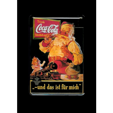 Coca-Cola und das ist für mich-(10x15cm)