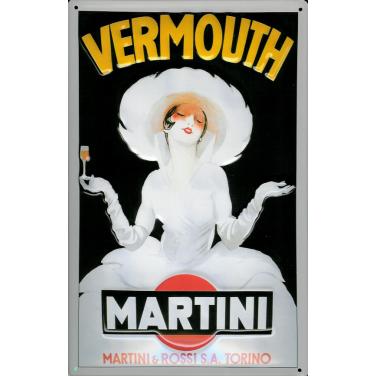 Vermouth Martini-weiß-(20x30cm)