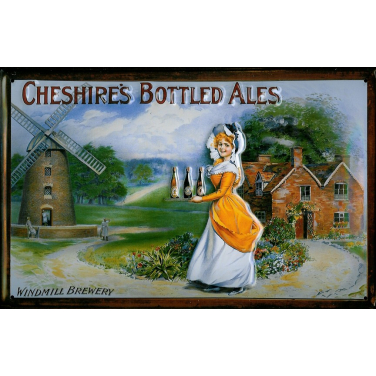 Cheshire's Bottled Ales - windmill Brewery